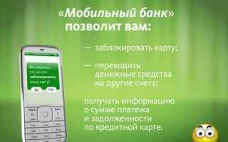 Мобильный Банк Сбербанк Как Пользоваться