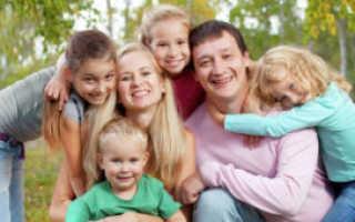 Многодетная Семья Кто Считается